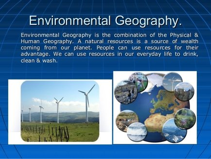 Natural Heritage Human Geography